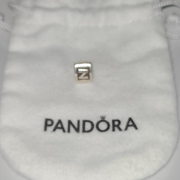 Pandora charm initial Z